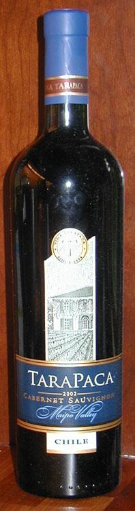 Cabernet Sauvignon ( Vina Tarapaca ) 2002