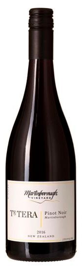 Te Tera Pinot Noir ( Martinborough Vineyard ) 2012