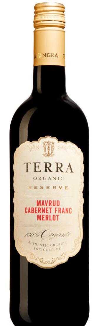 Terra Organic Reserve Mavrud Cabernet Franc Merlot ( Terra Tangra Winery ) 2016