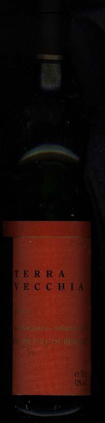 Terra Vecchia ( Skalli Family Wines ) 2001