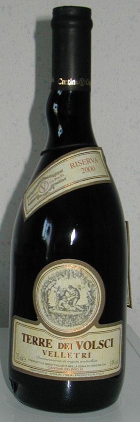 Velletri Riserva ( Cant. coop. provi ) 2007