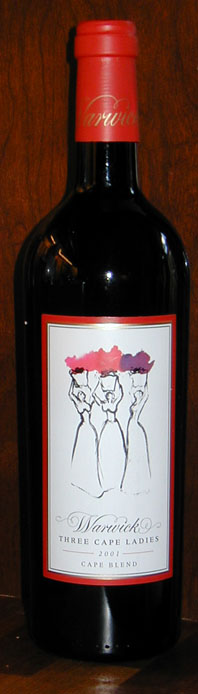 Three Cape Ladies ( Warwick Wine Estate ) 2002