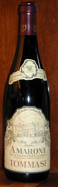 Amarone della Valpolicella Classico ( Tommasi ) 2004