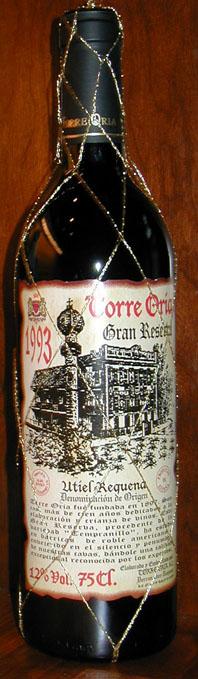 Torre Oria Gran Reserva ( Bodegas Torre Oria ) 1993