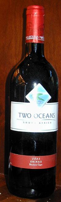 Shiraz ( Two Oceans Wines ) 2003