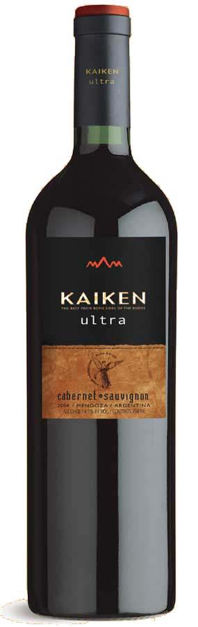 Kaiken Ultra Cabernet Sauvignon ( Kaiken Wines ) 2004