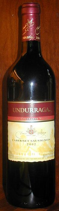 Cabernet Sauvignon ( Undurraga ) 2002