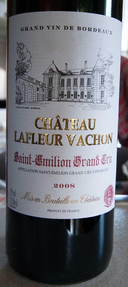 Château Lafleur Vachon ( Château Lafleur Vachon ) 2008