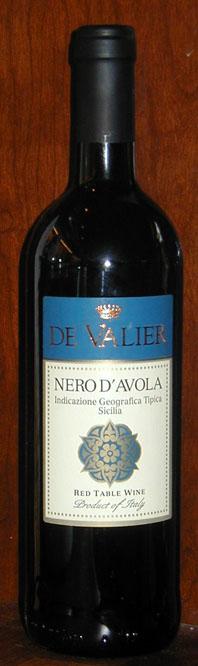Nero d`avola ( de Valier ) 2003