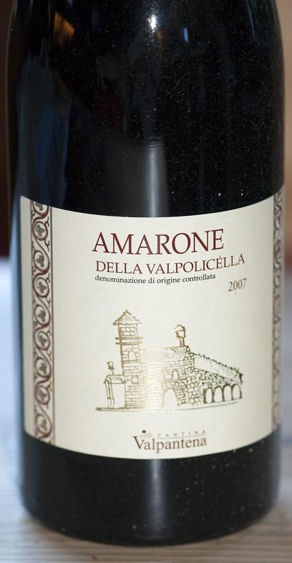 Amarone della Valpolicella ( Cantina Valpantena ) 2004