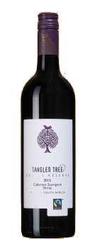 Tangled Tree Cellar Reserve Cabernet Shiraz ( Van Loveren ) 2012