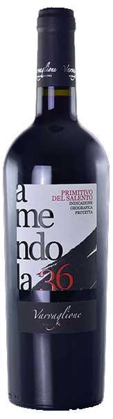 Amendola 36 Primitivo del Salento ( Varvaglione ) 2014
