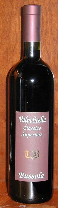 Valpolicella Classico Superiore TB ( Bussola ) 2000