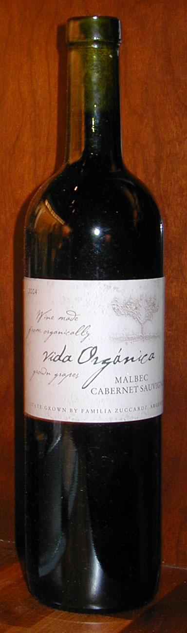 Vida Organica Malbec Cabernet Sauvignon ( Zuccardi ) 2004