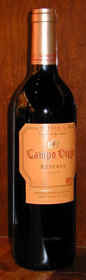 Campo Viejo Reserva ( Campo Viejo ) 2000