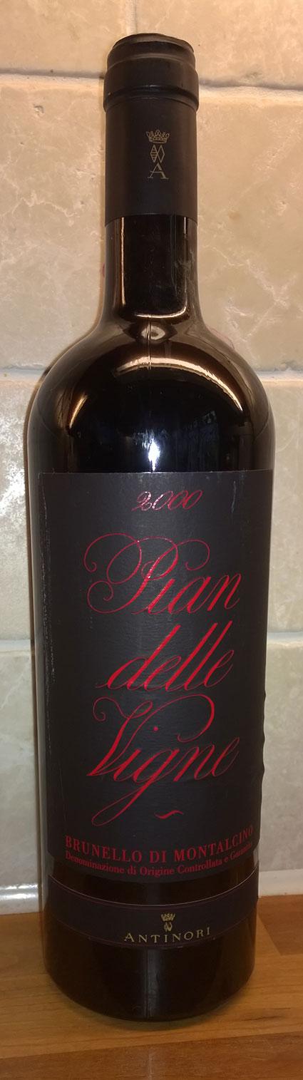 Brunello di Montalcino Pian delle Vigne ( Antinori ) 2001