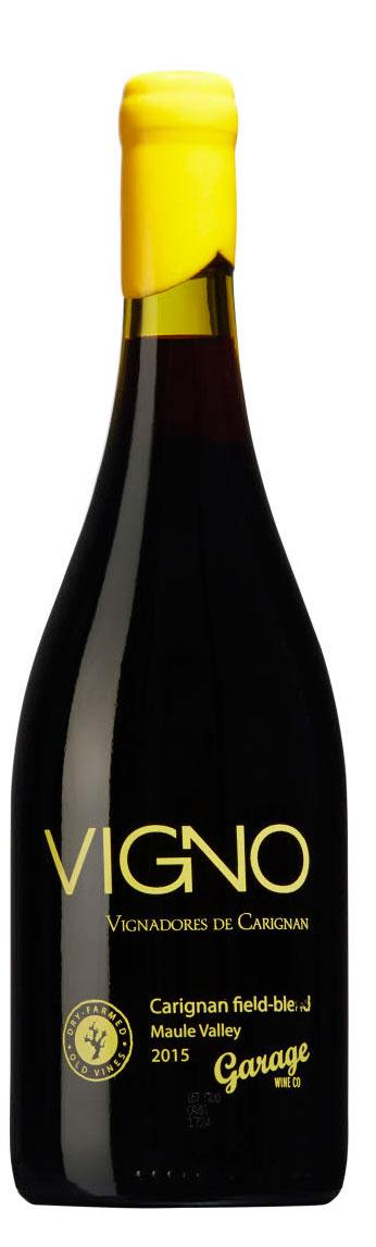 Vigno Carignan Field-Blend ( Garage Wine ) 2015