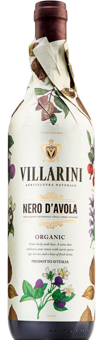 Villarini Nero d`Avola ( Icon Wines ) 2017