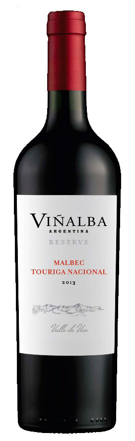 Malbec - Touriga Nacional Reserve ( Viñalba ) 2013