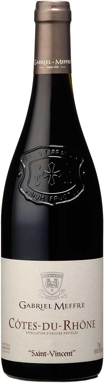 Côtes du Rhône Prestige Saint-Vincent ( Gabriel Meffre ) 2012