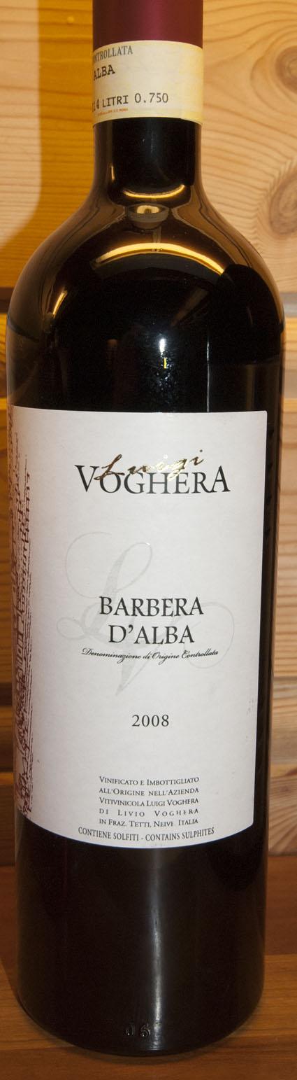 Barbera d`Alba ( Luigi Voghera ) 2008