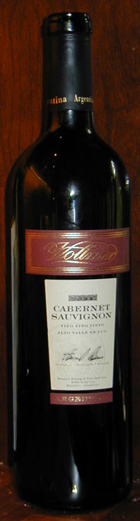 Cabernet Sauvignon ( Bodegas Enrique Vollmer ) 2004