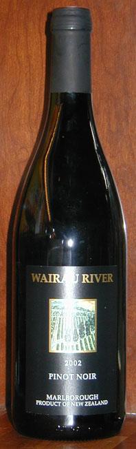 Pinot Noir ( Wairau River wines ) 2002