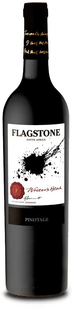 Writer`s Block Pinotage ( Flagstone Winery ) 2015