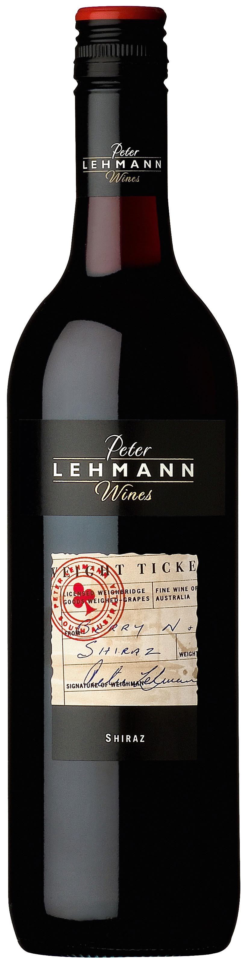 Weighbridge Shiraz ( Peter Lehmann ) 2010