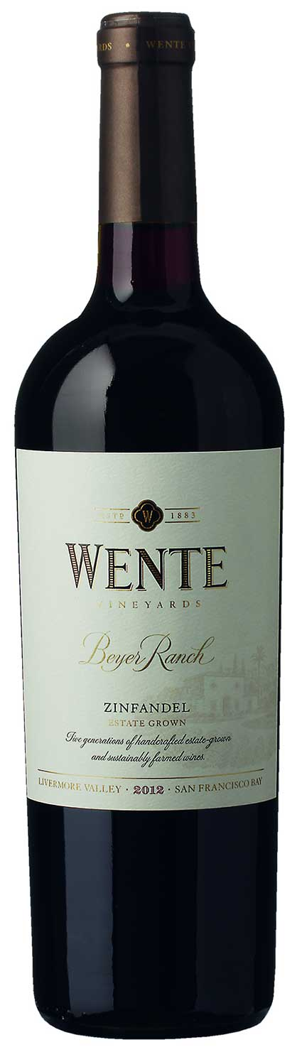 Wente Zinfandel Beyer Ranch ( Wente Vineyards ) 2012