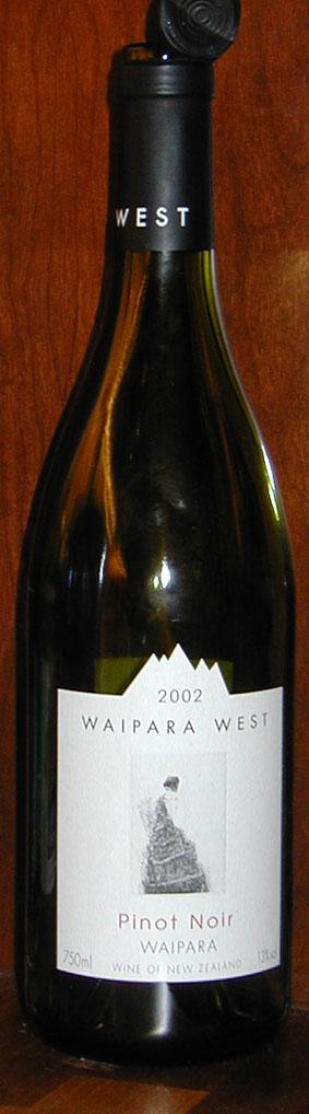 Pinot Noir ( Waipara West ) 2002