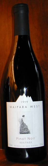 Pinot Noir ( Waipara West ) 1999