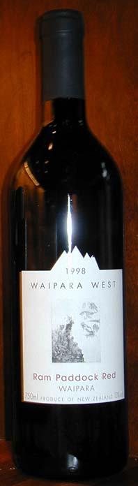 Ram Paddock Red ( Waipara West ) 1998