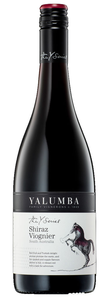 Y Series Shiraz Viognier ( Yalumba winery ) 2013