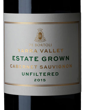 Yarra Valley Estate Grown Cabernet Sauvignon ( De Bortoli ) 2015