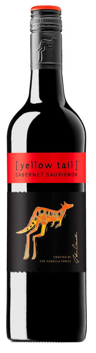Yellow Tail Cabernet Sauvignon ( Casella Estate ) 2013