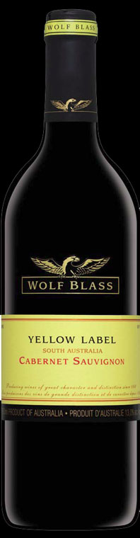 Yellow Label Cabernet Sauvignon ( Wolf Blass ) 2014