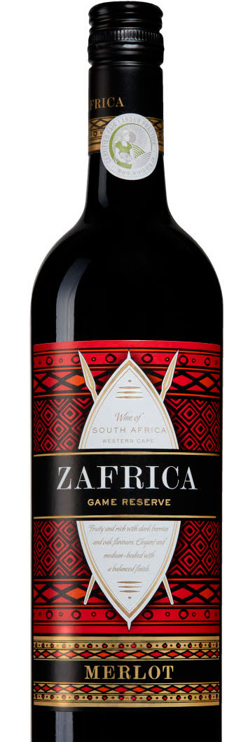 Zafrica Game Reserve Merlot ( Leeuwenkuil Family Estate ) 2015