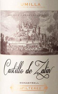 Castillo de Zalin Monastrell ( Bodegas Juan Gil ) 2017