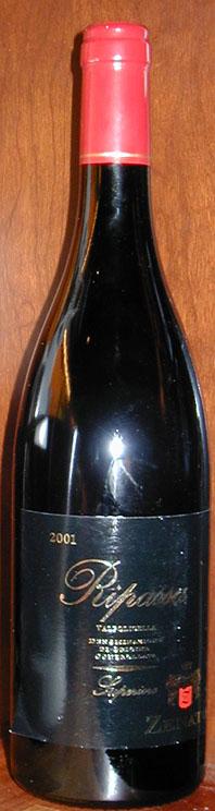 Valpolicella Classico Superiore Ripassa ( Zenato ) 2001