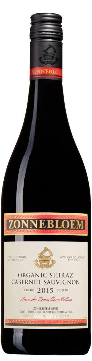 Organic Cabernet Sauvignon Shiraz ( Zonnebloem Wines ) 2014