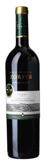 Zorita Natural Reserve Syrah ( Bodegas Marqués de la Concordia ) 2016