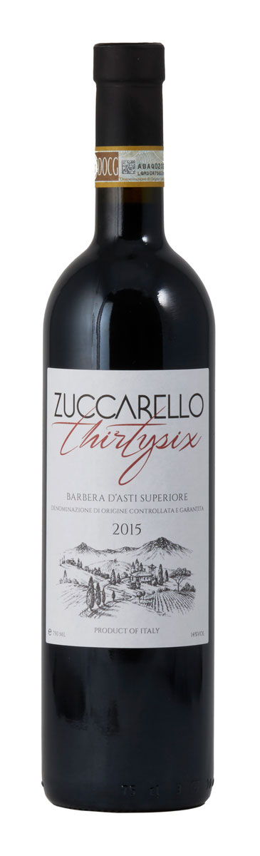 Zuccarello 36 Barbera d`Asti ( Winehouse Norway ) 2015