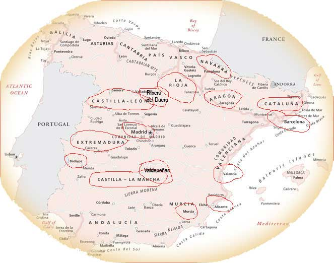 Spanish Wineries